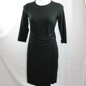 J. Jill Black Dress Wearever Collection Stretch